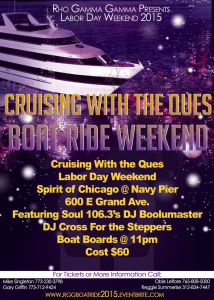 Rho Gamma Gamma Ques Colossal LABOR DAY Weekend 2015