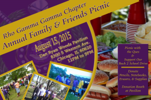 RGGQues Annual Family & Friends Picnic – Saturday, August 15, 2015