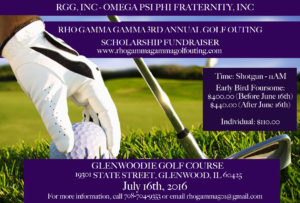 RGG Annual Scholarship Golf Outing @ Glenwoodie Golf Course | Glenwood | Illinois | United States